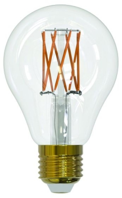 Girard Sudron 10W E27 A70 Dimmable Clear LED Filament GLS Bulb Very Warm White
