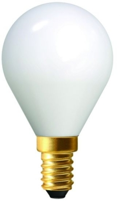 Girard Sudron 4W E14 G45 LED Filament Globe Bulb Milky Finish Very Warm White