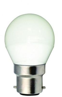 Girard Sudron 5W B22 Frosted G45 Golfball LED Bulb Very Warm White