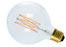 Girard Sudron 6W E27 Clear Dimmable G125 LED Filament Globe Very Warm White