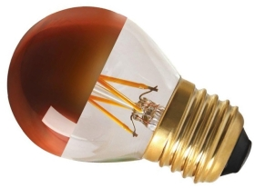 Girard Sudron Dimmable 4W Crown Bronze ES LED Filament Golfball