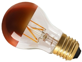 Girard Sudron Dimmable 6W Crown Bronze ES LED Filament GLS