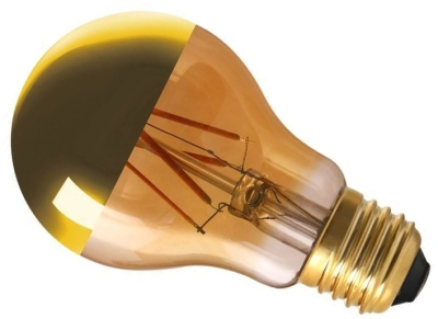 Girard Sudron Dimmable 6W Crown Gold ES LED Filament GLS