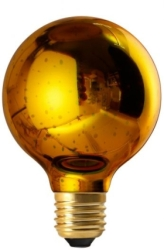 Girard Sudron E27 Globe Cosmos G80 4W Gold Decorative LED