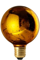 Girard Sudron E27 Globe Cosmos G95 4W Gold Decorative LED