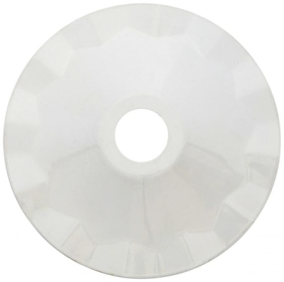 Girard Sudron White Metallic Lampshade (With Rubber Fixing Ring)