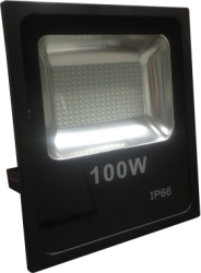 GloboLED 110-240V Slimline Floodlight 100W Daylight (1000 Watt Alternative)