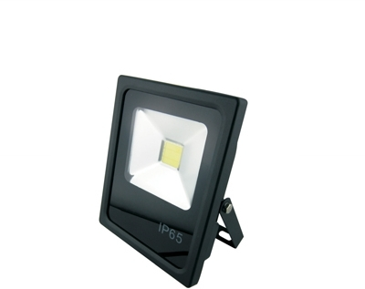 GloboLED 110-240V Slimline Floodlight 10W Daylight (80 Watt Alternative)