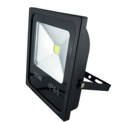 GloboLED 110-240V Slimline Floodlight 50W Daylight (400 Watt Alternative)