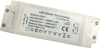 GloboLED Panel Dimmable Driver 200-240V