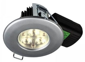 H2 PRO550 T 8.5W Cool White Dimmable LED Fire Rated IP65 Downlight (38 Degree)