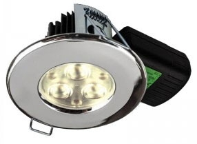 H2 PRO550 T 8.5W Warm White Dimmable LED Fire Rated IP65 Downlight (38 Degree)