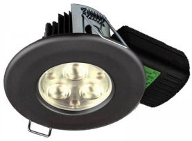 H2 PRO550 T 8.5W Warm White Dimmable LED Fire Rated IP65 Downlight (60 Degree)