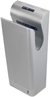 Handy Dryers Gorillo Ultra Blade Hand Dryer With HEPA Filter (Polished Stainless Steel)