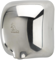 Handy Dryers Kangarillo 2 1.5kW ECO Hand Dryer (Polished Stainless Steel)