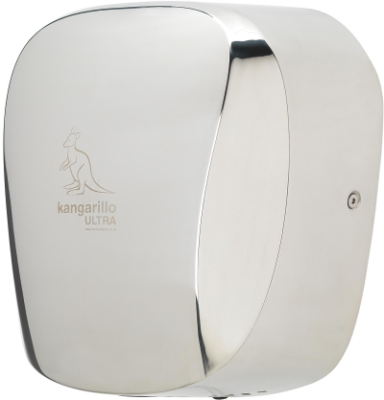 Handy Dryers Kangarillo Ultra 0.6kW - 1.4kW Vandal Proof Hand Dryer (Polished Stainless Steel)