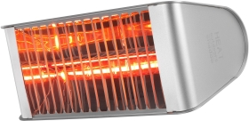 Heat Outdoors IP65 2.4KW Shadow Fatboy Patio Heater in Silver