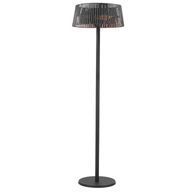 Heat Outdoors Shadow Diffusion 2.1kW Lamp Free Standing Patio Heater