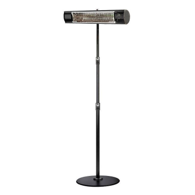 Heat Outdoors Shadow Remote ULG with Stand, 1.5kW Black