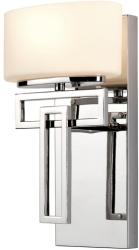 Hinkley Lighting G9 Lanza 1 Light Bathroom Wall Light in Polished Chrome