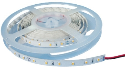 IP20 (Indoor Use) 5m LED Strip Warm White 24V (Strip Light) 4.8 Watts per Metre