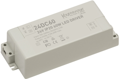 IP20 LED Driver 24v 60w DC - Constant Voltage