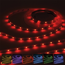 IP20 LED Strip 24V 5m RGB Colour Changing 7.2W/m