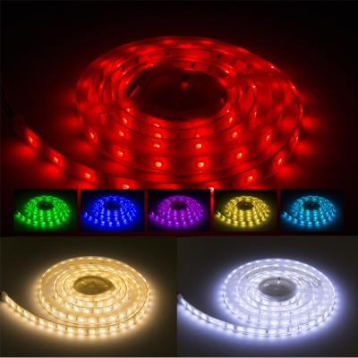 IP68 LED Strip 24V 5m RGBW Colour Changing & Daylight 9W/m