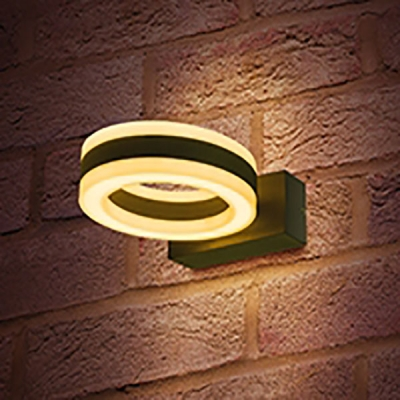 Integral Ciclo 11W 3000K Wall Light Dark Grey (480 Lumens)