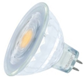 Integral Dimmable Glass LED MR16 5.2 Watt Cool White (35 Watt Alternative)