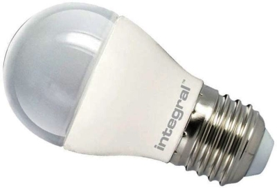 Integral Dimmable LED Frosted Golfball 6.2W ES Warm White (40 Watt Alternative)