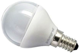 Integral Dimmable LED Frosted Golfball 6.2W SES Warm White (40 Watt Alternative)