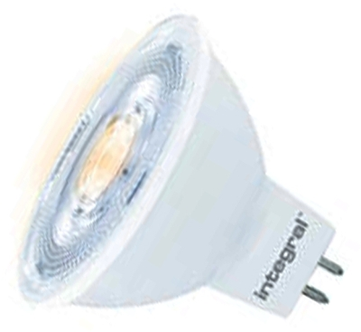Integral Dimmable LED MR16 8.3 Watt Very Warm White (50 Watt Alternative)