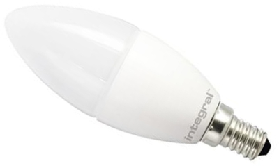 Integral E14 7.5W 5000K LED Candle Light Bulb (830 Lumens)