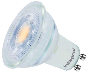 Integral Glass LED GU10 4.7W Very Warm White (50 Watt Alternative)