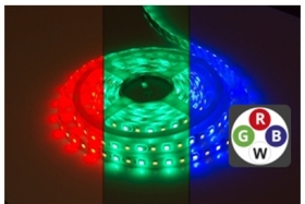 Integral IP65 (Indoor and Outdoor Use) 5m LED Strip Warm White 24V 12 Watts per Metre