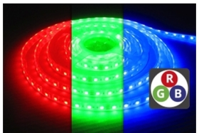 Integral IP67 (Indoor and Outdoor Use) 5m LED Strip RGB 24V 14.4 Watts per Metre