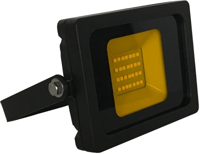 JLEDS IP65 10W Amber LED Slimline Floodlight (80W Equivalent - 2 Year Warranty)