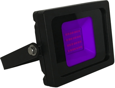 JLEDS IP65 10W Purple UV LED Slimline Floodlight (80W Equivalent - 2 Year Warranty)