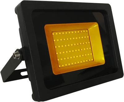 JLEDS IP65 30W Amber LED Slimline Floodlight (240W Equivalent - 2 Year Warranty)