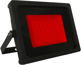 JLEDS IP65 50W Red LED Slimline Floodlight (400W Equivalent - 2 Year Warranty)