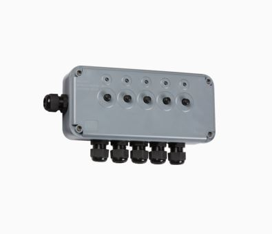 Knightsbridge IP66 13A 5 Gang Switch Box