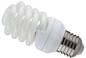 Kosnic 110 Volt Energy Saving Spiral 20W ES Warm White (100 Watt Alternative)
