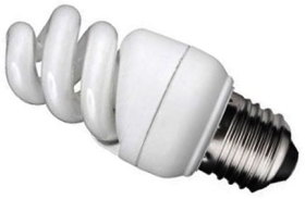 Kosnic Energy Saving Mini Spiral 7W Very Warm White ES (40W Alternative)