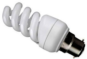 Kosnic Energy Saving Mini Spiral 9W Very Warm White BC (50W Alternative)
