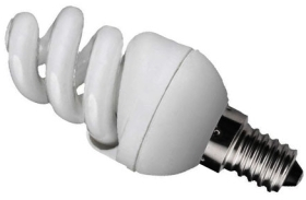 Kosnic Energy Saving Ultra Mini Spiral 7w Daylight SES (40W Alternative)