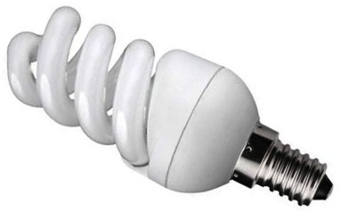 Kosnic Energy Saving Ultra Mini Spiral 9w Very Warm White SES (50W Alternative)