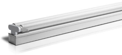 This is a 2x8 W G13 bulb that produces a Cool White (840) light which can be used in domestic and commercial applications