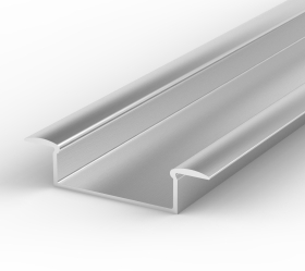 LED 1 Metre Wide Recessed Profile P14 - 1 - 10.65mm x 30.8mm