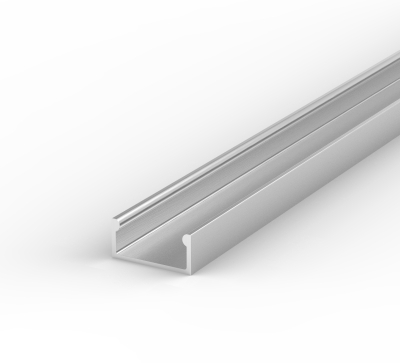 LED 2 Metre Recessed Profile P4 - 1 - 7mm x 13.4 mm